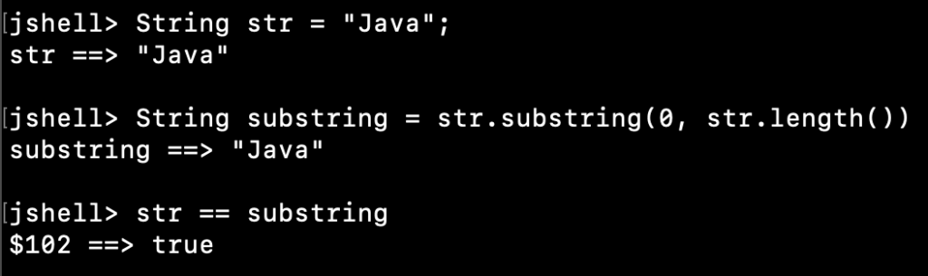Java String Substring Example