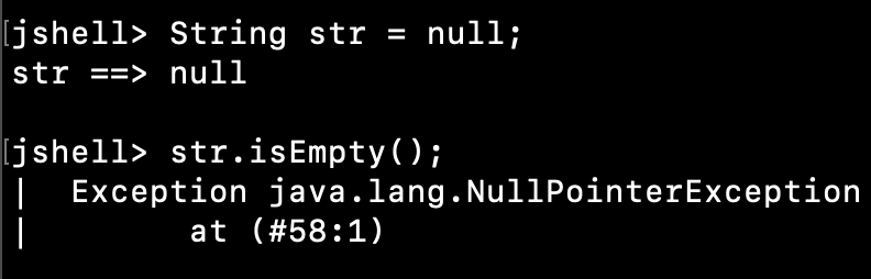 Java String IsEmpty Null